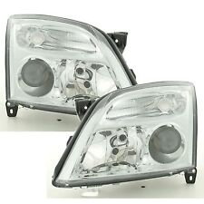 Vauxhall Signum 2003-2005 Chrome Front Headlight Headlamp Pair Left & Right