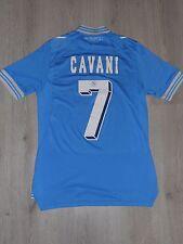 NAPOLI ITALY # 7 CAVANI 2012 / 2013 FOOTBALL SHIRT JERSEY HOME MACRON SIZE YL
