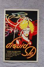Liquid Sky Lobby Card Movie Poster
