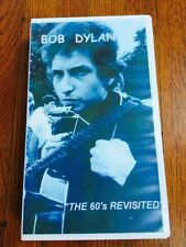 3 Bob Dylan DVDs/VHS: 'Speaks', 'Other Side of the Mirror', 'The 60's Revisited'