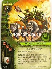 Warhammer Invasion - 1x #030 Wolf Chariot - Oaths of Vengeance