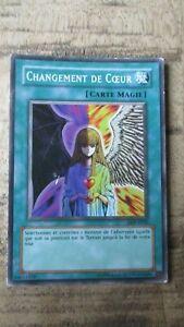 Carte Yu-Gi-OH-Changement de coeur-DDY-F030