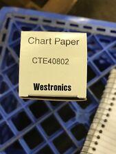 Westronics Chart Paper Cte40802 Lot Of 8