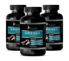 recovery - SUPER MACA COMPLEX 2070mg - yohimbe - 3 Bottles 180 Capsules