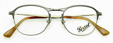 PERSOL 7007V 1071 Matte Grey/Light Brown EYEGLASS FRAME  49mm *AUTHENTIC* Italy
