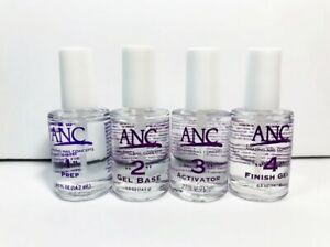 ANC Liquid Nail Dipping Powder 0.5oz You Pick Prep Base Activator Top or Powder