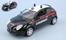 Modellino auto scala 1:24 Welly ALFA ROMEO MITO CARABINIERI modellismo diecas...