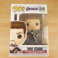449 Funko Pop! Marvel Avengers Tony Stark Bobble Head Vinyl Figure
