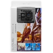 """Silver Label Focus ACTION CAMERA HD 720p With Free 20"""" POV Pole/Selfie Stick"""
