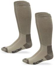 Realtree AP Mens Outdoor Non-Binding Lightweight Tall Boot Crew Socks 2 Pair