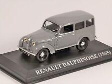 1955 RENAULT DAUPHINOISE in Grey 1/43 scale model ALTAYA