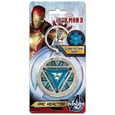 Marvel Avengers Iron Man Arc Reactor Deluxe Pewter Keyring - Gift