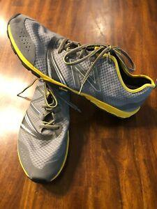 New Balance Vibram Men's Gray/Yellow Minimus Meter Support Shoes 12.5