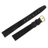 14mm Ladies Black Genuine Teju Lizard Watch Strap NOS