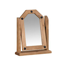 Mercers Furniture® Corona Mexican Pine Single Dressing Table Mirror