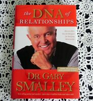 The DNA of Relationships by Dr. Gray Smalley SIGNED 1st Edition Hardcover