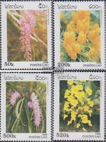 Laos 1534-1537 (kompl.Ausg.) postfrisch 1996 Orchideen