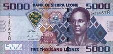 Sierra Leone 5.000 Leones 2010 PICK 32 (1)