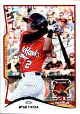 2015 Fargo-Moorhead RedHawks Team Issue #17 Ryan Pineda Las Vegas Nevada NV Card