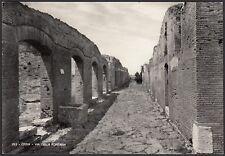 AA5259 Roma - Città - Ostia - Via della Fontana - Cartolina postale - Postcard