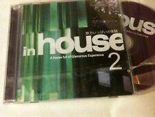 'IN HOUSE 2' Asian Compilation CD - Chris Lake, Ultra Nate, Guru Josh Project
