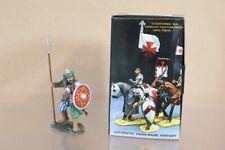 KING & COUNTRY MK100 CRUSADERS 1096 1204 ADVANCING SARACEN SPEARMAN BOXED nv