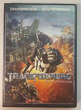 PELICULA DVD PACK TRANSFORMERS 1+2