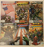 Justice League of America #1-6 New 52 VF/NM 1st Print DC JLA Batman Superman