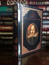 The Complete Works of William Shakespeare New Sealed Leather Bound 1st Edition