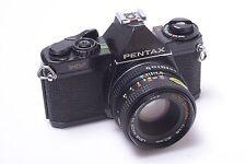 ✅ PENTAX MV 35MM SLR CAMERA BODY W/ K-MOUNT CHINON 50MM 1.9 LENS