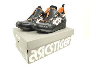 Asics Tiger Gel-Lyte MT Shoes 1191A143-001 Mens Size 10.5 Black White Orange New