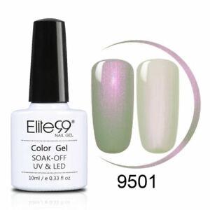 Elite99 10ML Shell Colour Gel Nail Polish Lacquer Top Base Coat Manicure UV LED