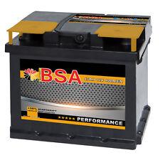 BSA Autobatterie 47Ah +30% mehr Startkraft ersetzt 44Ah 45Ah 46Ah 50Ah Batterie