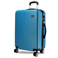 24'' Hardshell Trolleys Suitcase 4 Wheels Luggage Medium Lightweight Travel Case