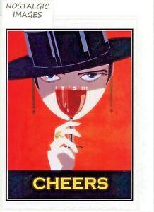 Sandemans Port - nostalgic Art Deco style hand made greeting card. blank inside.