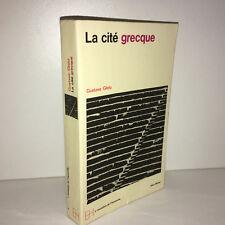 Gustave Glotz LA CITE GRECQUE éd° Albin Michel 1968 POCHE Grece Antiquité -CD35C
