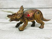 2000 Hasbro Jurassic Park 3 RE-AK-AT-TAK Triceratops Dinosaur Action Figure Rare