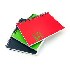 A5 Notebook Lined Ruled Pages Spiral Note Book Journal Writing Jotter Cover Pad
