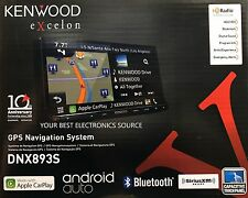 """NEW Kenwood DNX893S 6.95"""" eXcelon Double-DIN AV Navigation System With Bluetooth"""