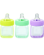 Baby Shower Fillable Baby Bottle Multi Favors Pack Of 6 One Size
