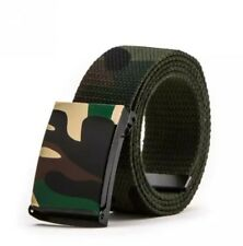 Men's Women's Army Belt Camouflage Accessoires Camo Buckle 110-115cm