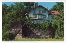 The Tinker Cottage, early Swiss Chalet,  Rockford IL 1960s Postcard