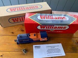 Williams NW-214  NW-2 Switcher Locomotive Seaboard Cab #6250