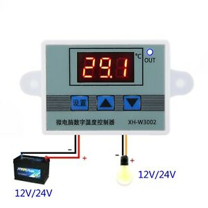 Thermostat Switch LED Temperature Controller Temperature Controller 1 meter 2018