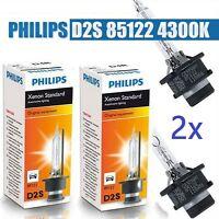 2x Original Philips D2S 85122 Xenon Brenner 4300K BMW Mercedes VW Audi Porsche