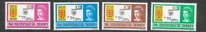 GB Jersey 1969 Inauguration of Post Office SG30-33 MNH unmounted mint stamps