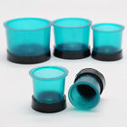 Dental Lab Round Casting Rings Formers with Base Wax Rubber Sillicon Cup
