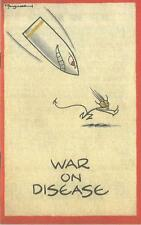 War on Disease Booklet Home Front World War 2 1939-1945 Public Health
