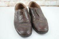 Clarks Brown Leather Shoes size Uk 8 Extra Wide
