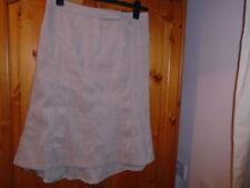 Calf Length Polyester Patternless NEXT Skirts for Women